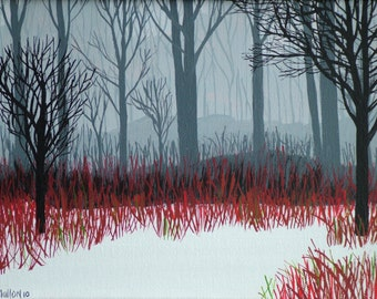 Winter Forest (Print)