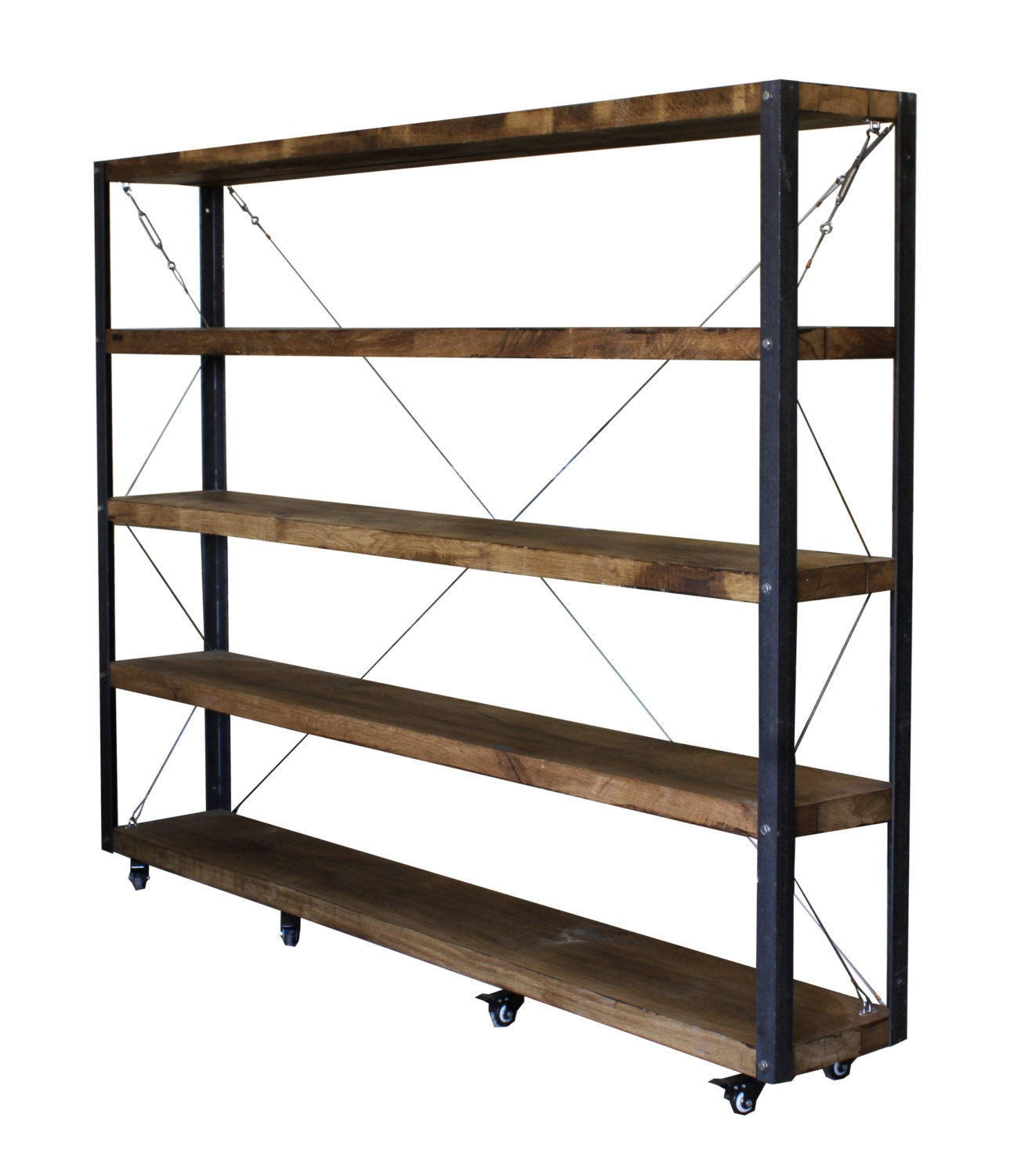 #634931 KONK HUGE 30cm Deep Oak Bookcase Shelving INDUSTRIAL with 1299x1500 px of Recommended Deep Shelves Bookcase 15001299 save image @ avoidforclosure.info