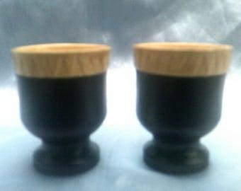 Bakelite with Ceramic Insert Egg Cups 2of