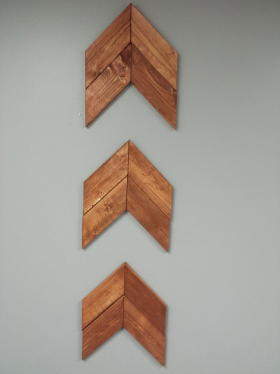 Chevron Wood Wall Decor : Moved permanently