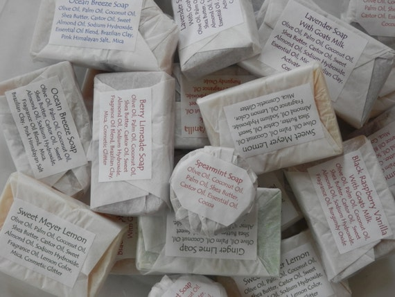 Assorted Guest Soaps