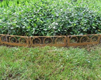 BEAUTIFUL BORDERS for your lawn, garden, and flower bed. Comes in swirls, squares, fleur-de-lis, slanting, and ovals.