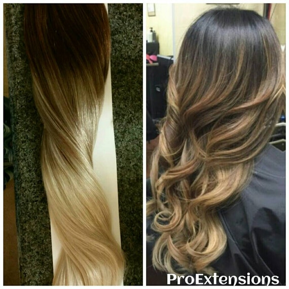 Items similar to Sombre Balayage Remy Clip,In Extensions 160 Grams SALE on Etsy