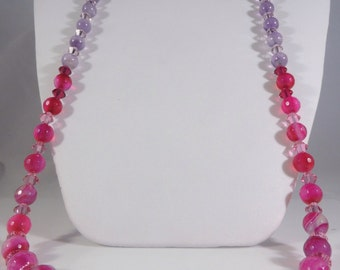 Melbourne sunset sterling silver necklace and earring set