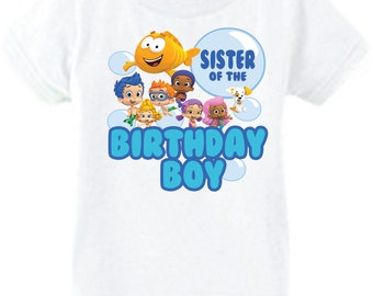 Bubble Guppies Sibling Shirt