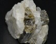 Tourmaline crystals.. quartz crystal ..boho..Gypsy queen..Jewelry supplies..reiki..chakras..new age..hippie..craft supplies