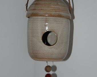 Bird house. Hand made bird house.