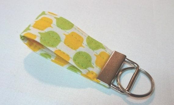 Your Choice-Mod Bubble Citrus Key Fob Wristlet or Fingerlet Key Fob