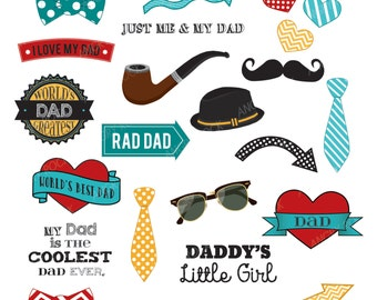 Best Dad Ever Father's Day Clip Art