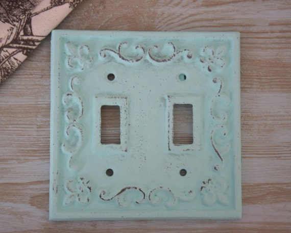 Double Light Switch Plate Cover Cast Iron Plate Cover