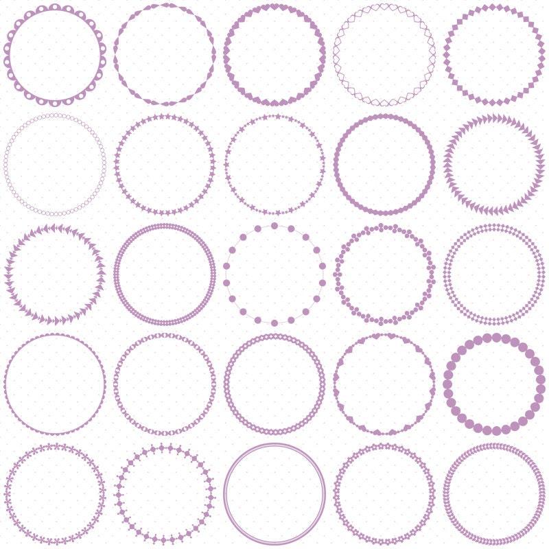 Circle Frame Clip Art Circle Frame Clip Art