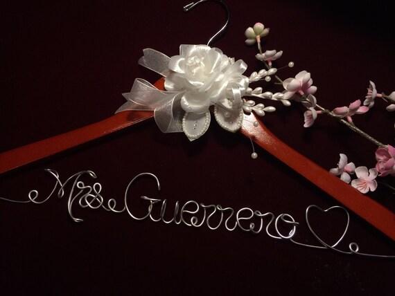 Rush Order Personalized Wedding Hanger Bride Hanger Wedding