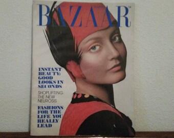 Harper's Bazaar Magazine, Vintage 1970's