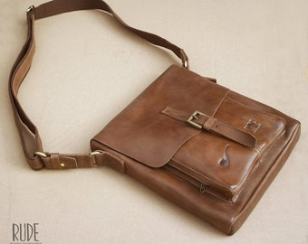 Pipe Leather Bag