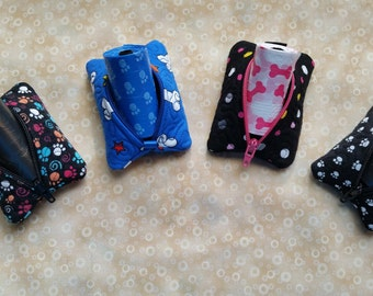 POOch Pouch, Dog Poop Bag Holder, Dog Waste Bag Holder, Clip On, Dog Mess Bag Holder, Poop Bag Dispenser, Dog Waste Bag Dispenser
