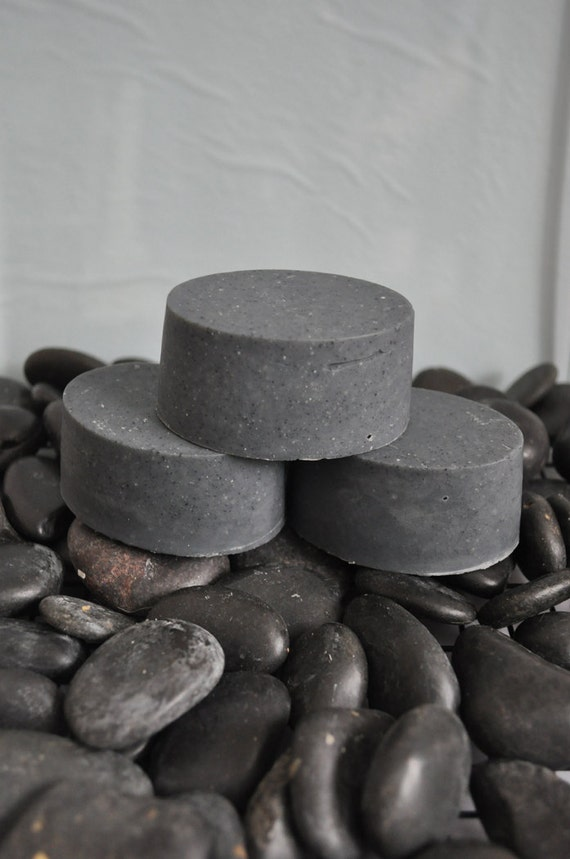 Body Charcoal Goat Milk Soap Unscented Soap By