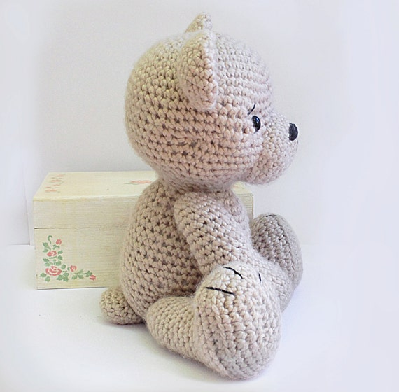 PATTERN : Bear-teddy -Amigurumi bear pattern-Bear -Classic Bear-Crochet -Knit...