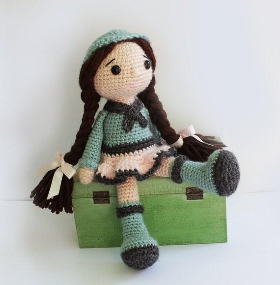 PATTERN : Amigurumi Doll Crochet pattern Amigurumi by ...