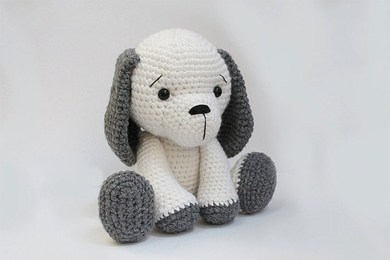 Free Pattern For Amigurumi Dog : PATTERN : Dog Puppy Amigurumi dog pattern Crochet