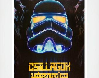 Rare Polish Star Wars Poster