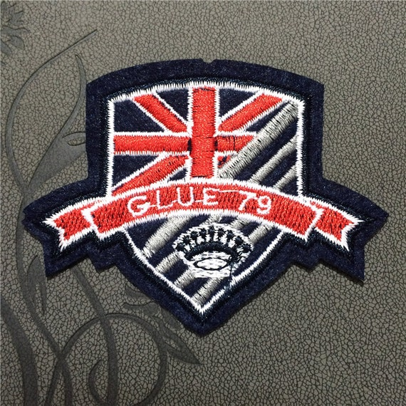 Custom Embroidered Patches Best Quality Merrow Border