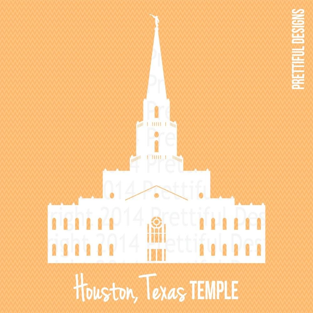 Houston Texas Temple Lds Mormon Clip Art Png Eps Svg Vector