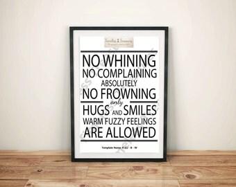 Kids (C) Playroom Rules