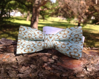 turquoise bow tie for children