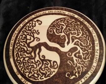 Tree of life Yin-Yang