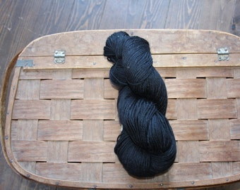 Alpaca Black Wool 4 Ply