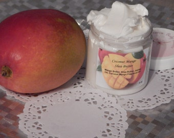 Whipped Coconut Mango Body Butter