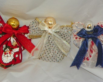 Ribbon Angel Ornaments