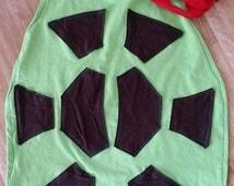 Teenage Mutant Ninja Turtles cape with mask