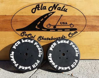 REPLACEMENT . . . PCH Land Paddle Solid Rubber Discs. . . This is a Pair.