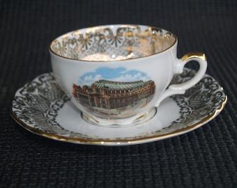Demitasse Cup and Saucer Wien, Staatsoper - Vienna Austria