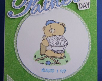 A Father's Day card for the cricketer/fan