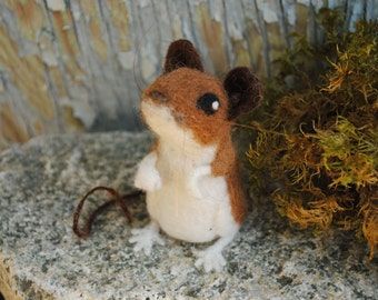Needle Felted Mouse Made to Order