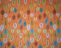 Orange Happy Harvest fabric by Riley Blake (Pattern: C4032)