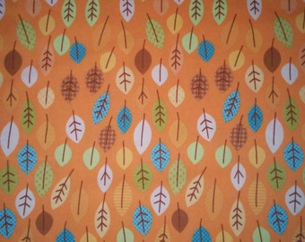 Orange Happy Harvest fabric by Riley Blake (Pattern: C4032)