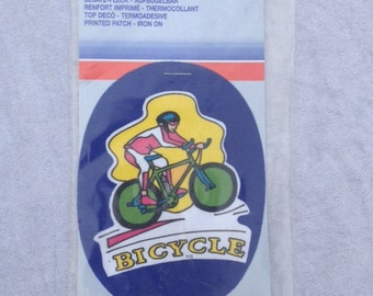 Bicycle Patch Iron On
