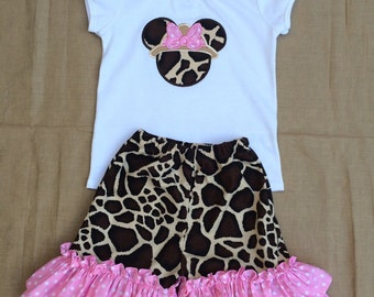 Safari Minnie Mouse outfit