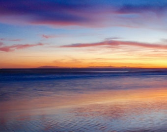 Sunset beach photography, Ventura Pier sunset, channel Islands photography, Ventura California, Ventura Ca
