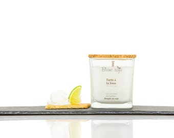 Tart lime, soy candle