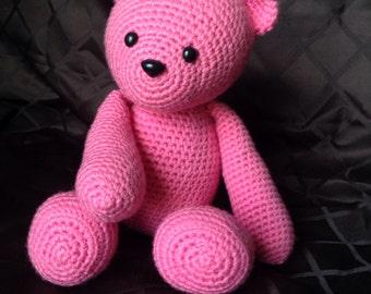Teddy Bear Crocheted