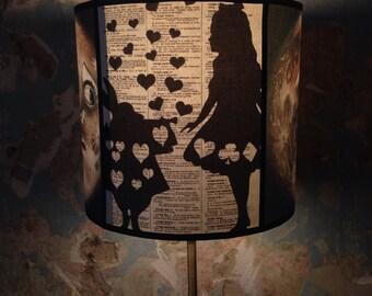 Fairy Tale Vintage Black Decor inspired lamp shade 'FAIRYLAND'