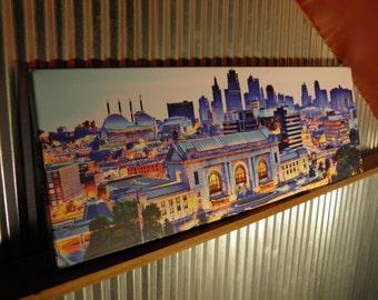 Downtown Kansas City Giclée Print...Not your grandma's skyline pic!