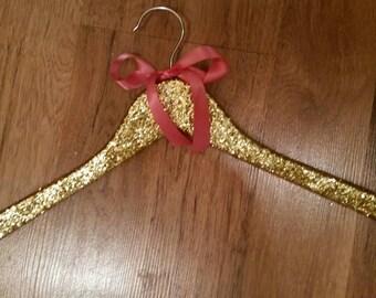 Glitter Hangers, Gold Hangers, Silver Hangers,  Special Occasion Hangers, Sparkly Hangers, Adult Hangers, Photo Shoot Hangers