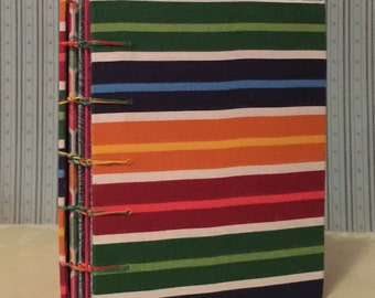 Handmade Coptic stitch blank sketch book