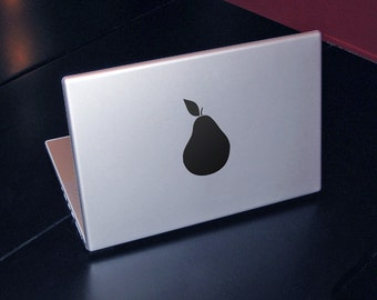 Pear logo Decal for Macbook and Laptop