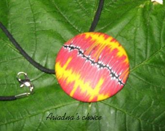 Pendant -Polymer clay jewelry-Original ideas-Original gifts